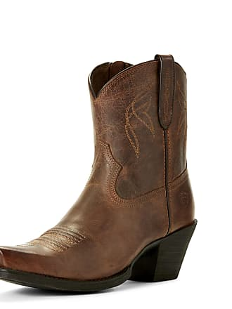 Size Medium Brown Leather Western Width Lovely By 5 Womens 36 Ariat Boots B In Sassy qwA1PxBBzY