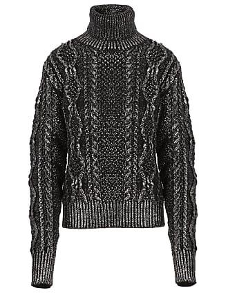 Cable Black Saint Turtleneck knit Laurent Sweater 8w6EwS