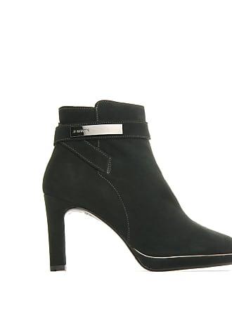 Femme Vert Jb Martin Bottines Chaussures Cuir Wals YW0wE6
