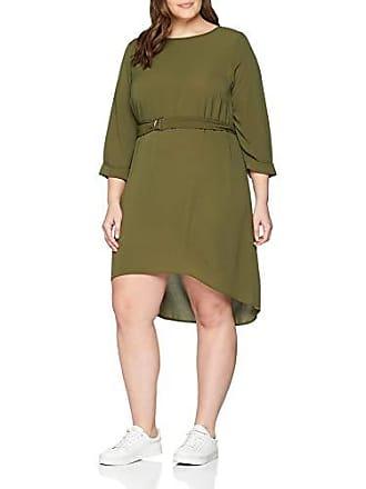 dark Del Para Curves Look 46 38 Buckle Belted 18 Vestido New Fabricante Verde talla Mujer Green aX8OqwOH