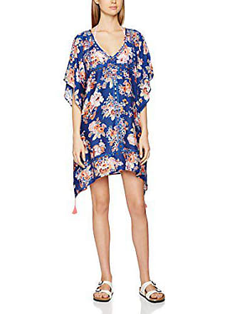 Talla Kaftan Floral Pareos Seafolly Azul french s Fabricant Mujer Cutwork Antique Del Para Blue Uqvvawt