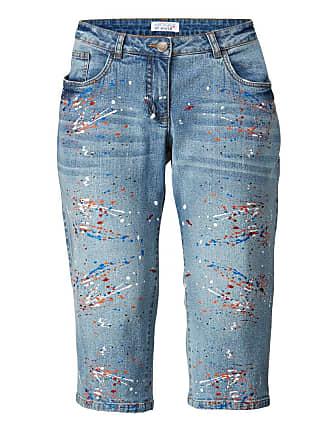 Of Blauw Angel Style Capri jeans ZxqfUd1aw