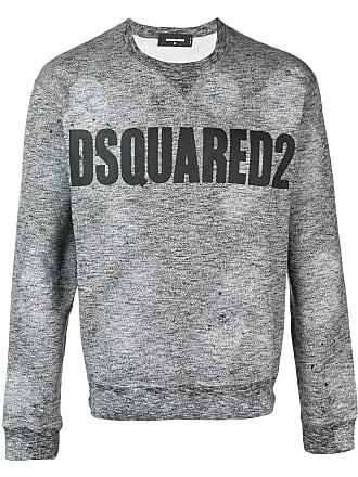 Sweatshirt Printed Front Dsquared2 Dsquared2 Gris Front 6qwSnIxF