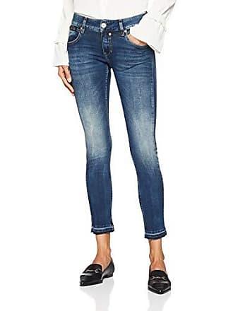 754 Cropped Mujer vintage W26 Azul Touch Para Vaqueros Herrlicher Slim 1q75w18