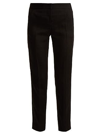 Givenchy TrousersWomens Straight Leg Crepe Black IEDHW9Y2e