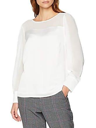 40 81 Weiß white 810 Mujer Para Blusa 8821 Comma 11 0120 1vx8v0