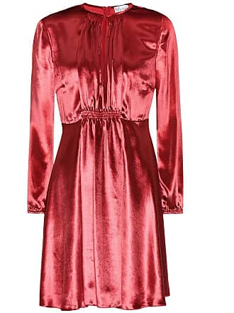 Red Allsaints DressRobe Fourreau Bordeaux Yasmin Twist gyYbf6v7