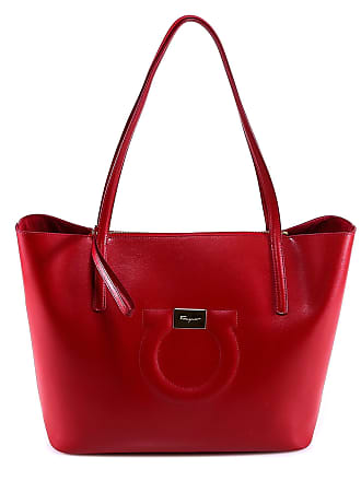 23925a469a57 One Red Only Tote Ferragamo Gancini Logo Bag Size Salvatore qFw1UAY ...