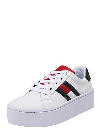 Rot Roxie Sneaker 4a Jeans Tommy Weiß Blau 1FPqZWS