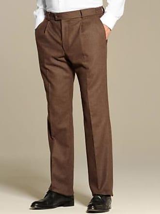 taupe Blancheporte élastiquée Pantalon ceinture flanelle wwCFOISxq