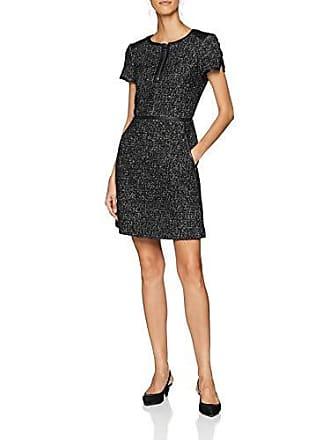 Fabricante Millen Para Dress 8 Vestido Uk amp; black white 36 Mujer Leather Karen Tweed Del talla xFdOYqFw