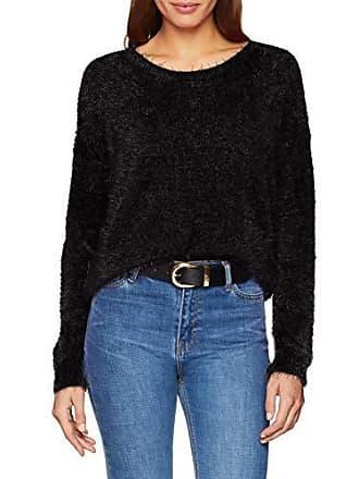 Damen large schwarz nero donna Seven 999 Blue da maglione Von Pullover Xx a1owP