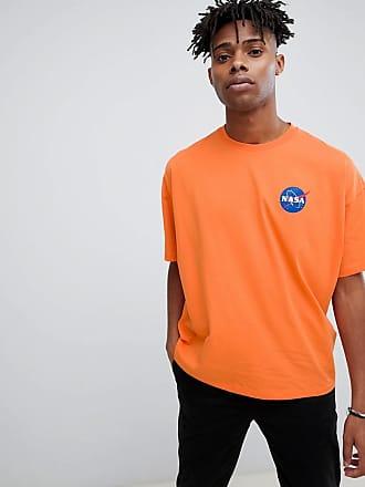 Shirt Xy4wbf Nasa Oversize T Orange Asos 8wmOPyv0Nn