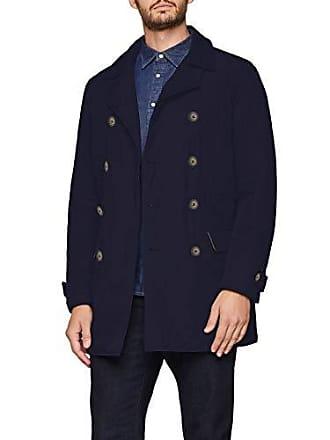 Bleu 016 Jacket dark Medium Homme Benetton Blouson Blue Heavy w1aq7HB