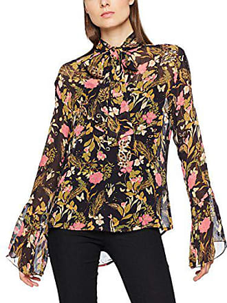 Leopard Mujer 40 Rose Para Embroidered Millie Negro In Top Blusa Blk Black Mackintosh Print wTSAMERAHq