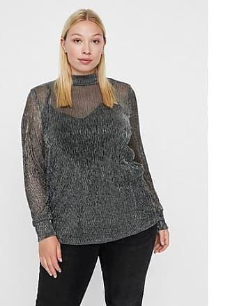 Junarose Lange Met Shirt Zilveren Mouwen Transparante ZTZS8wxq