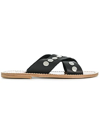 Solange Sandals ClousNoir Sandales à Détails De gy6v7Ybf