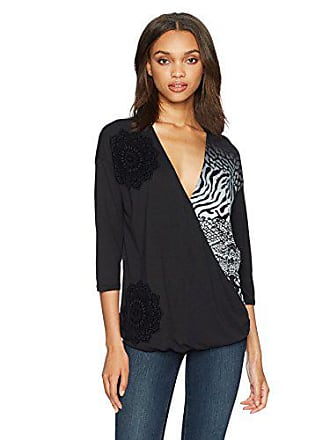 Noir Small 2000 Diego san Desigual Femme Ts negro shirt T qY7B1vw