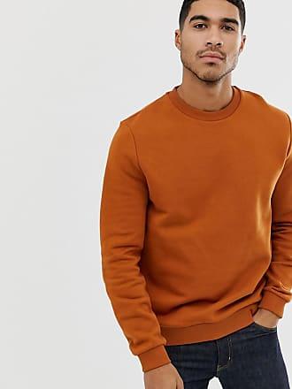 Orange Asos Felpa Design In Dark FPnx74q
