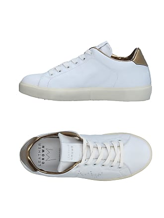 Leather Tennis Chaussures amp; Basses Sneakers Crown B4Bqn1wZ