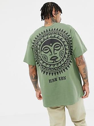 Honor Hnr sole con stampa retro T sul Shirt Ldn Brand rPwqrX8C