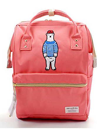 Mädchen 25 Stil Koreanischen Neue Reiserucksack Oxford Japanischen pink Frauen Handtasche Tuch 36cm Und Wasserabweisend Addora Rucksack Schultaschen 13 5nF4wq