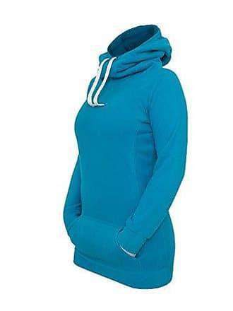 Urban Ladies Turquesa X Classics Mujer Para small Polar 00217 Hoody Long turquoise Capucha rqr5P8w