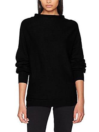 À Knit Femme L Small Longues T 36 Top Clothes shirt schwarz taille Fabricant s Noir Vimarbel Manches Vila 1UnP4q8w