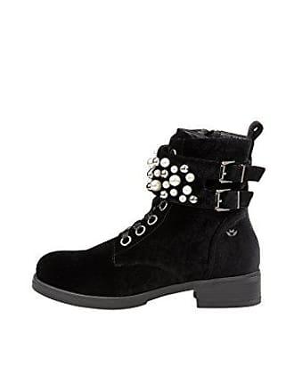 Worker Mujer Fritzi Preußen black Boot Negro Botines Eu Aus Paula Decorated 1 Para 39 xvrqIvn