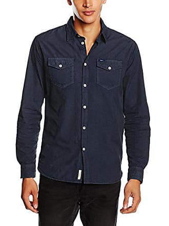 Azul Hombre Dioniso talla Jeans Pepe Camisa 40 ink London Large Fabricante Del xqwEXI