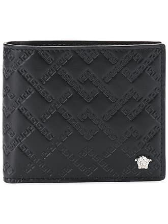 Gestepptes Versace Gestepptes Versace Schwarz Portemonnaie Portemonnaie Schwarz Bx0SIU