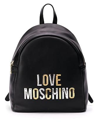 Sac Moschino Love LogoNoir à Dos H29EDWI