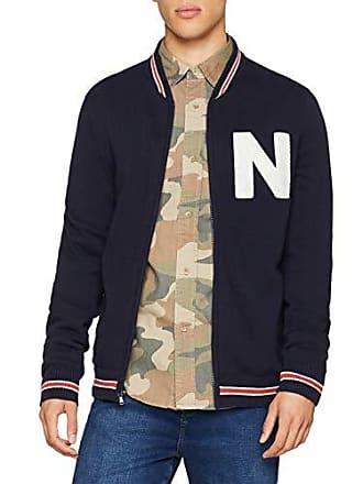 9gg Pull navy Nautica 4nv Jacket Baseball Homme Bleu FqEzw1E