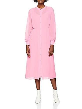 Shirt Warehouse 44 Femme Rose Robe Pleat R55wqpO