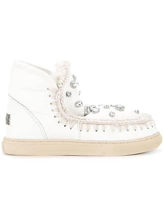 Sneaker À Bottines Ornements Mou Blanc Eskimo tqOwAwSEc