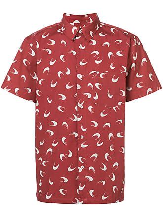 p Korte Mouwen Rood Overhemd Met c A TdqW1wHT