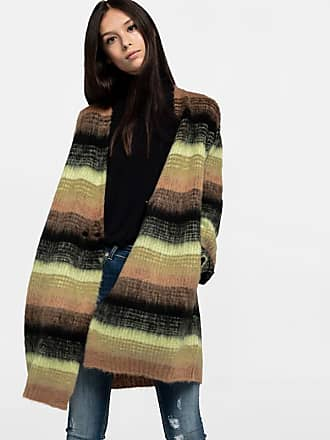 Wool Design Dondup Cardigan Striped In wUq41HO
