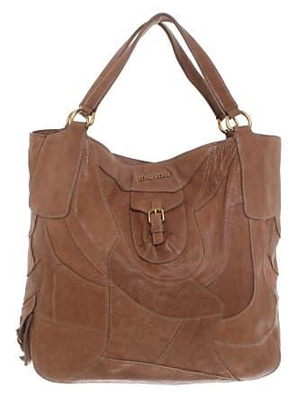 In Miu Leder Braun Gebraucht Damen Handtasche 7CwxECSHq
