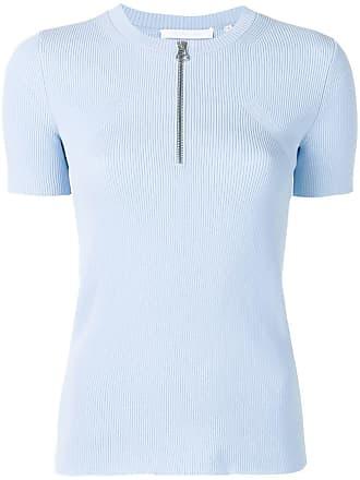 ZippéBleu Lang Helmut Col à T shirt roBedCx