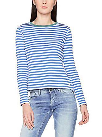 Fabricante Small Larga Para 1002 white2 Striped Tee Denim Mujer Manga talla Tailor Camisa Del Blanco 36 Tom q0aZYE