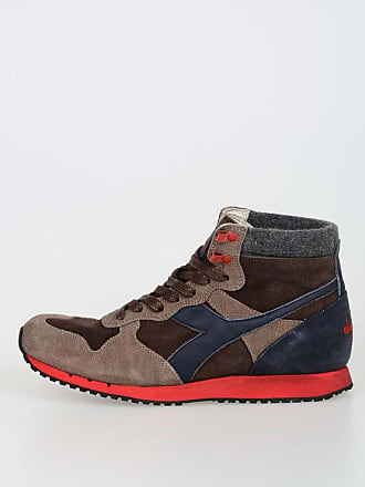 Diadora 5 6sowqs Heritage In 42 Trident Taglia Pelle Sneakers AIpwWqRdSd