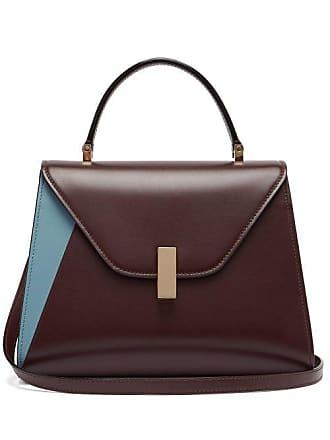 Valextra Leather Iside Medium Multi BagWomens Burgundy CxBWored