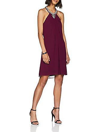 40 Para 7058 Laona Rot Mujer Fabricante Del velvet Rouge talla M Vestido gq00B