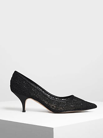 amp; Keith Charles Lace Crochet Pumps U1dqH