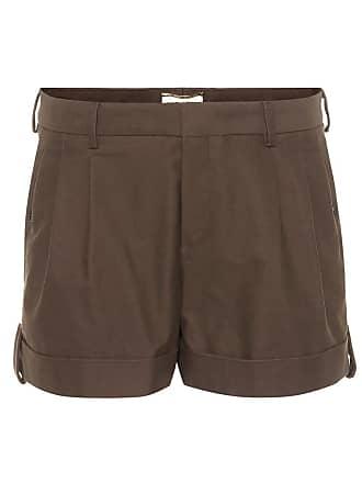 Stretch Shorts Aus Saint Laurent baumwolle WED9I2H
