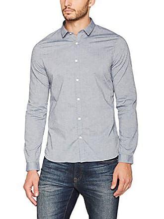 Camisa Azul dress 39 Nowadays Para Light Hombre Casual 647 Blues Shirt Melange w8t6xqt07
