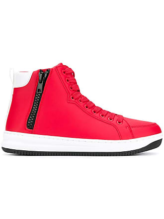 top Emporio sneakersRot High Armani Klassische cARL5jq34