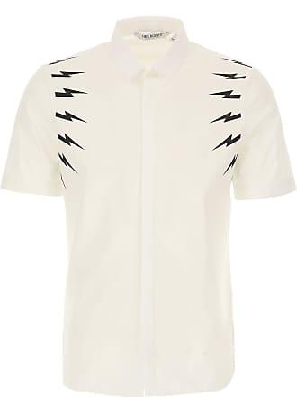 De Rebajas Hombre M Algodon S Barrett Blanco Camisa 2017 Neil En Baratos xqYtpEwtHS