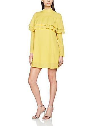 Glamorous acid Yellow Para small Detail X Amarillo L24 Mujer Ruffle Vestido fqfnar4