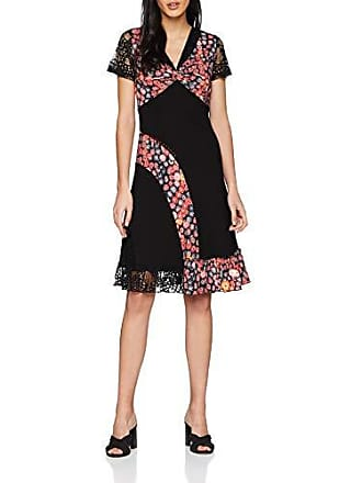 Fabricante a Mujer Distinctively Dress A Para Vestido 18 a talla Joe Multi Browns Del New Black All Different WHRnax